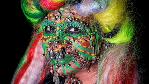 Elaine Davidson, the 'world's most pierced woman', appearing in Bleedin' Deadly at this year's Bram Stoker Festival