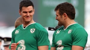 Johnny Sexton says players like Jared Payne have given as much to the Ireland jersey as he has