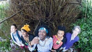 Congalese guitarist Niwel Tsumbu and his new band RiZA