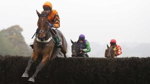 Tome Scudamore aboard Thistlecrack en route to victory at Chepstow