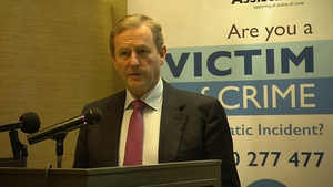 Enda Kenny said young people are being exposed to an 'avalanche' of information online