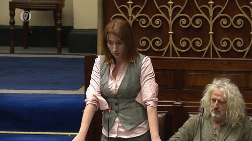 Clare Daly said the judiciary is an area that needs radical reform