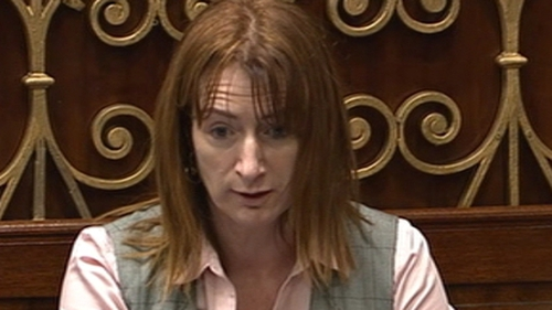 Clare Daly was before Naas District Court