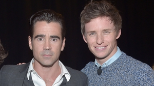 Best buds - Colin Farrell and Eddie Redmayne