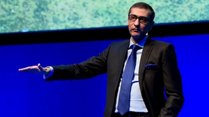 Nokia's chief executive Rajeev Suri said he was seeing encouraging signs of stablisation