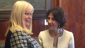 Mary Mitchell O'Connor discussed CERN membershipo with Dr Fabiola Gianotti