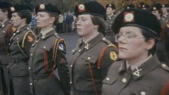 First Women Army Recruits