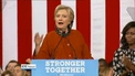 Polls show Hillary Clinton's lead has narrowed dramatically