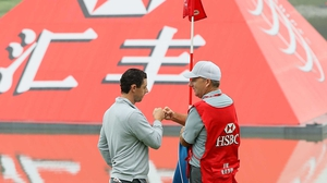 Rory McIlroy shot a 66 in Shanghai