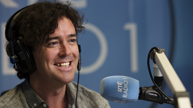 Cathal Murray in the RTÉ Radio 1 studio