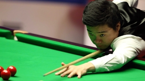 Ding Junhui is level 4-4 with Ronnie O'Sullivan at the Crucible