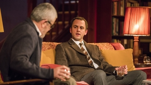 Denis Conway (left) and Mark Huberman in Who's Afraid of Virginia Woolf? All photos: Pat Redmond
