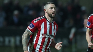 Derry scorer Rory Patterson