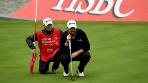 Shane Lowry hit a 65 at the WGC-HSBC Champions