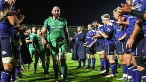 Leinster ran in two tries as they defeated the Pro12 champions