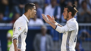 Gareth Bale (R) hasn't played for Real Madrid since November