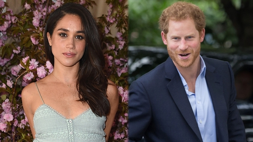 Meghan Markle's relationship with Prince Harry lead her to become the second most-Googled woman in Ireland