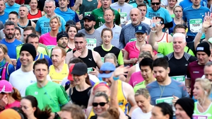 The weather conditions were described as ideal for marathon running