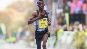 Dereje Debele Tulu claimed victory in a time of 2:12:08