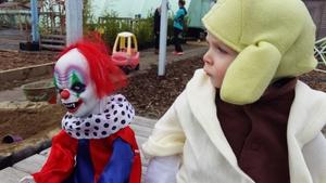 No clownin' around here (Pic: Brenda McBride)
