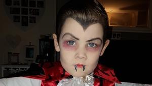Josh Dooley is one dapper vampire (Pic: Laura Dooley)