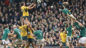Ireland beat Australia 26-23 two years ago at the Aviva
