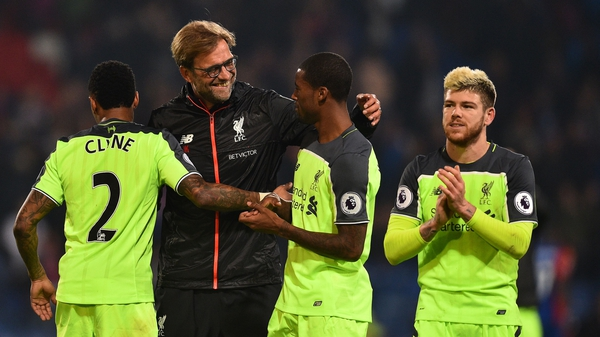 Jurgen Klopp insists there will be no let-up for his Liverpool players