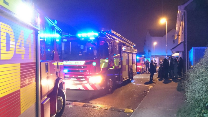 872 calls answered by Dublin Fire Brigade on Halloween night