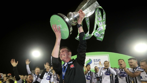Stephen Kenny is confident Dundalk can cope with the number of players leaving