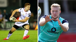 Paddy Jackson (L) and Stuart Olding (R) were among three men interviewed by the PSNI