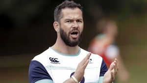 Andy Farrell says the squad's energy is focused on the All Blacks