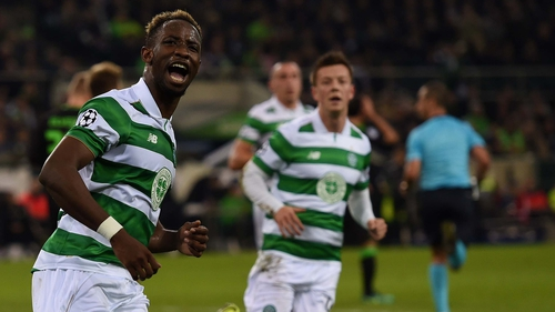 Moenchengladbach and Celtic draw 1-1 in Champions League