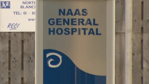 The man's body was removed to Naas General Hospital