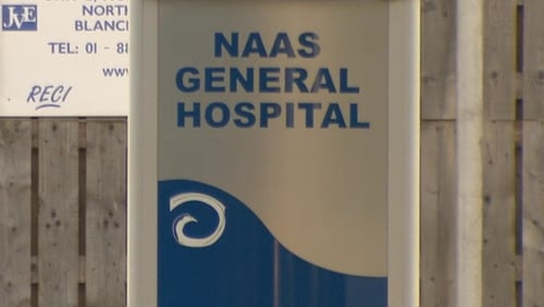 Elective operations and endoscopy procedures were cancelled for today at Naas General Hospital