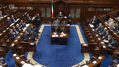 Martin Kenny made the statement to the Dáil on 26 May