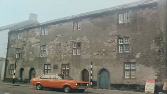 Alms Houses Youghal (1976)