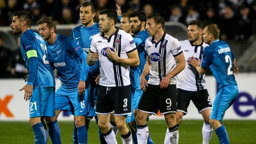 Zenit St Petersburg and Dundalk face off again in St Petersburg