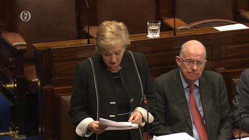 Frances Fitzgerald told the Dáil what the Government has done in relation to the resettlement and relocation programme