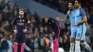 Messi was on the scoresheet in the 3-1 defeat to City