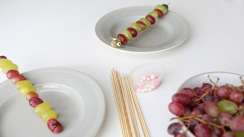 These Colin Caterpillars are a delicious healthy treat for the weekend.