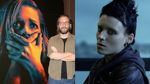 Don't Breathe director Fede Alvarez (left) and Rooney Mara (right) in The Girl with the Dragon Tattoo - New star will have big boots to fill