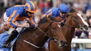 Churchill under jockey Ryan Moore