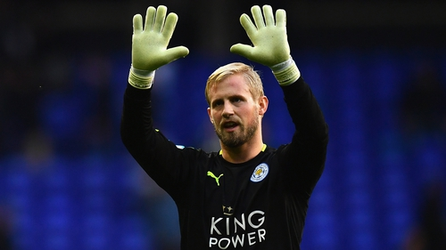 Kasper Schmeichel is set for a spell on the sidelines
