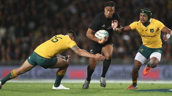 Julian Savea won the Rugby World Cup with New Zealand in 2015