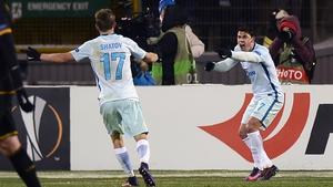 Giuliano celebrates his opener