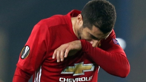 Mkhitaryan appeared as a second-half substitute against Fenerbahce