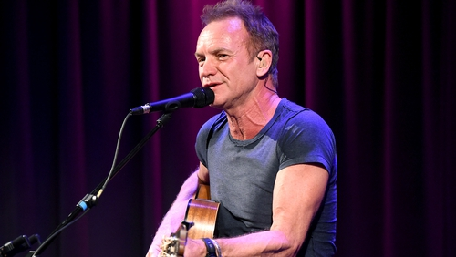 """Sting - """"We hope to respect the memory as well as the life-affirming spirit of those who fell. We shall not forget them"""""""