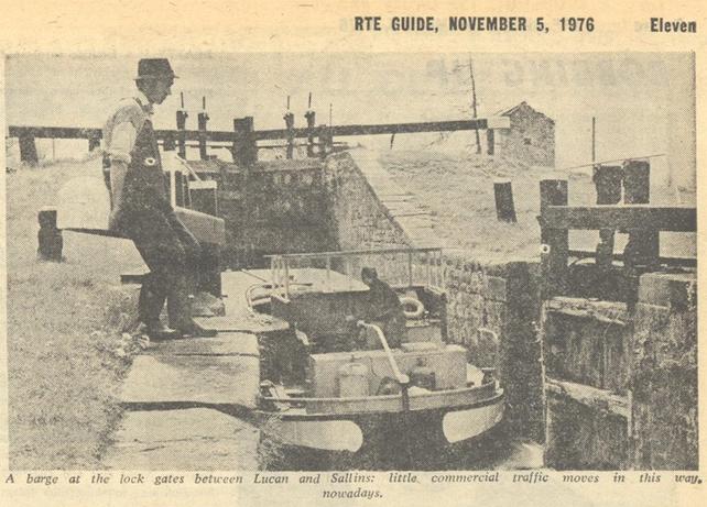 The Bargemen, RTÉ Guide, 7 November 1976
