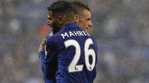 Riyah Mahrez and Jamie Vardy have been shortlisted for the FIFA player award