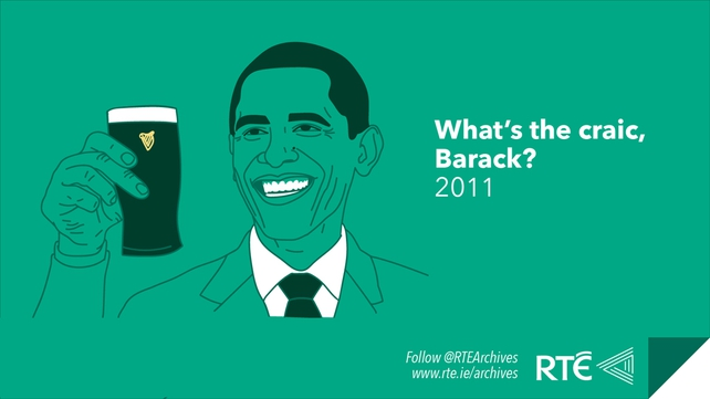 US Presidents in Ireland - Obama